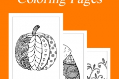 Autumn Mindfulness Hand Drawn Coloring Pages for Vicki Tillman Coaching