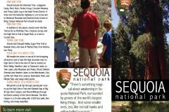 School Projects: Sequoia National Park Brochure