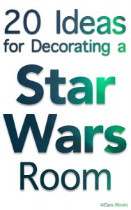 20 Ideas for Decorating a Star Wars Room