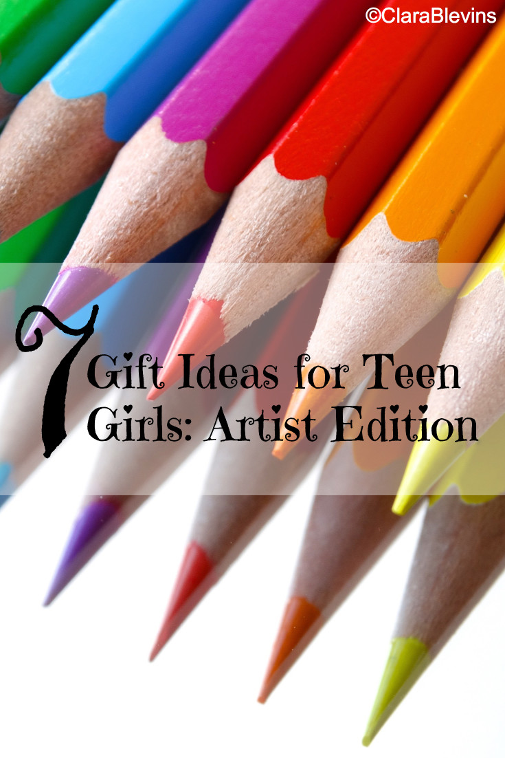 7 Gift Ideas for Teen Girls: Artist Edition
