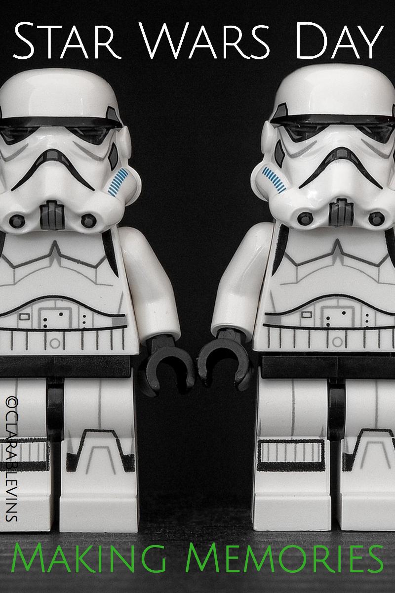 Star Wars Day: Making Memories
