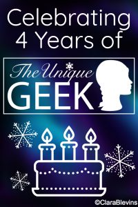 Celebrating 4 Years of The Unique Geek
