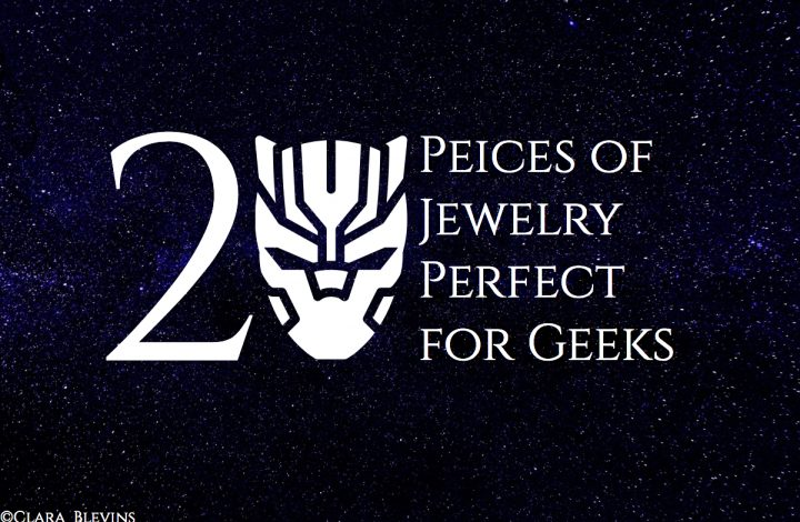 20 Pieces of Jewelry Perfect for Geeks