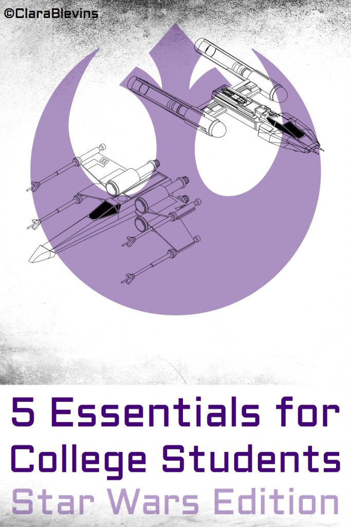 5 Essentials for College Students: Star Wars Edition